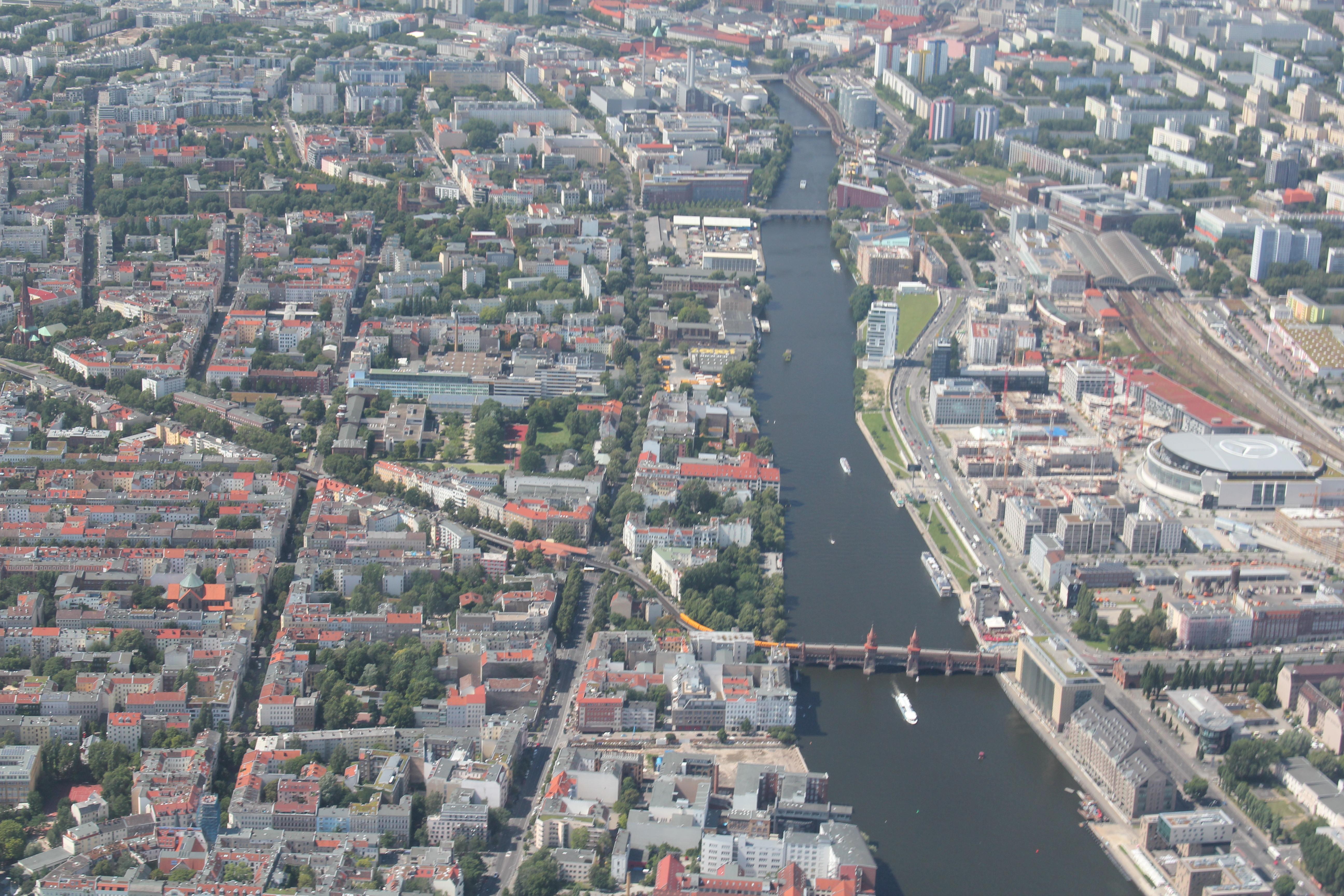 Spree - Oberbaumbrücke