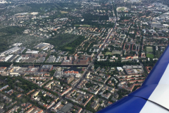 Tempelhofer Hafen während Rundflug