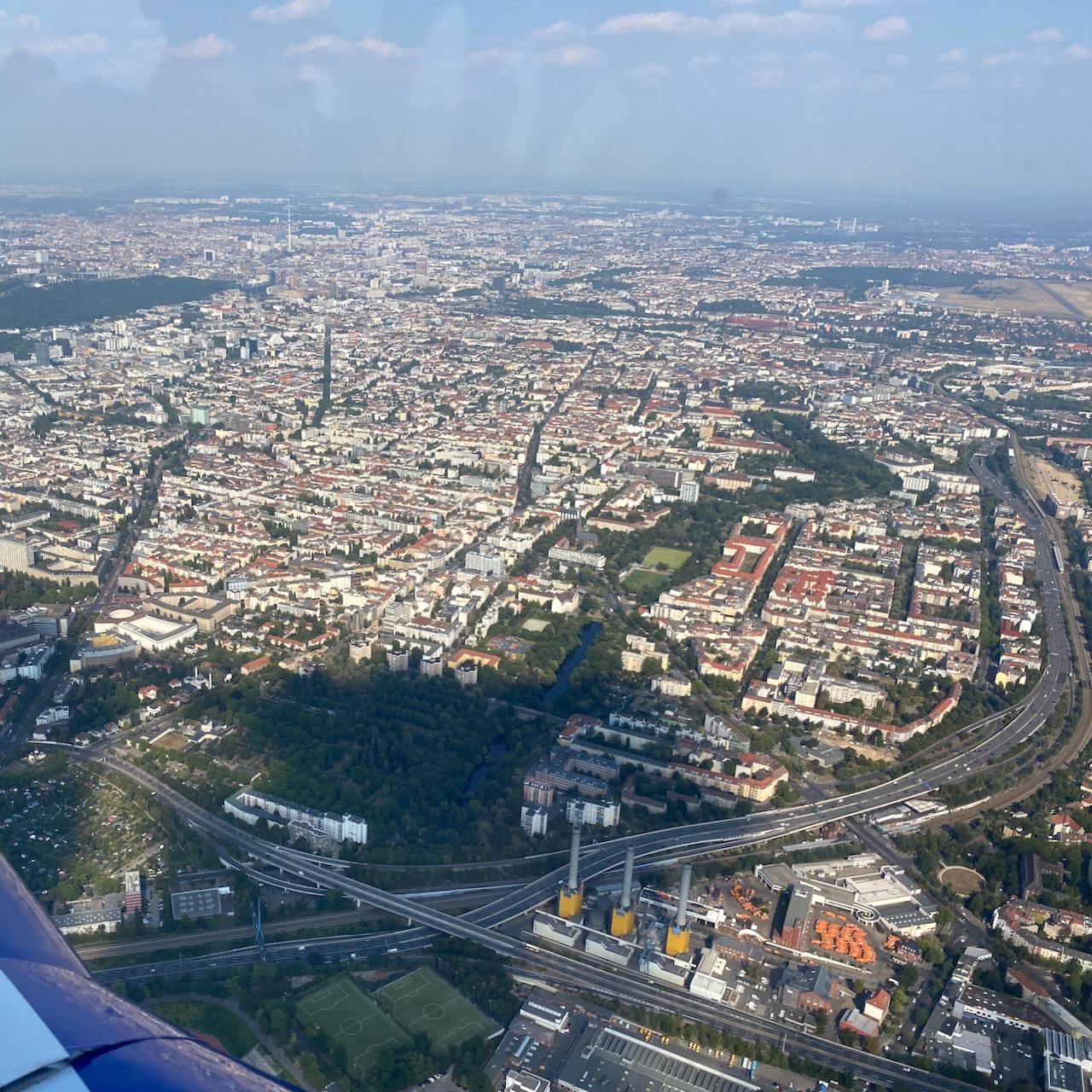 Berlin Wilmersdorf von oben