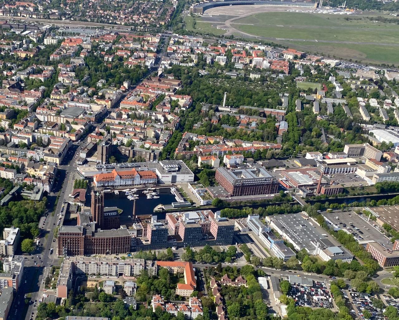 Berlin-Tempelhof mit Ullsteinhaus